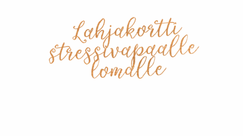 Stressfree-lahjakortti
